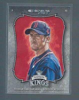18969~  2003 Donruss  #11  NOMAR GARCIAPARRA  ~  Red Sox