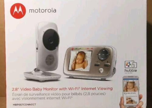 Genuine Motorola Smart Nursery Baby Monitor - MBP667CNCT *Brand New*