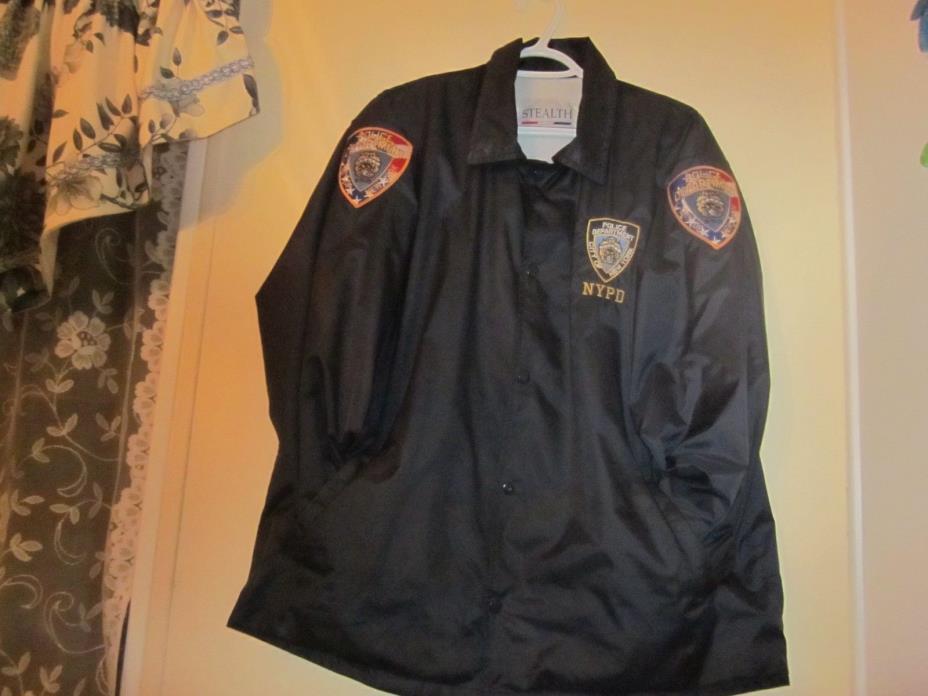 Authentic Vintage NYPD Raid Jacket