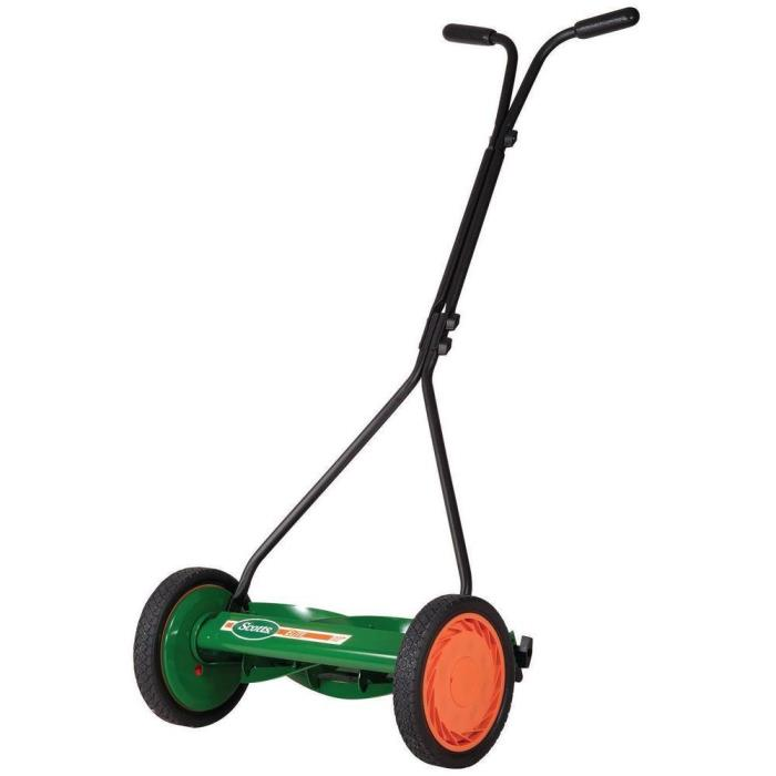 Scott's 16 in. Walk-Behind Push Reel Lawn Mower FREE FAST SHIPPING