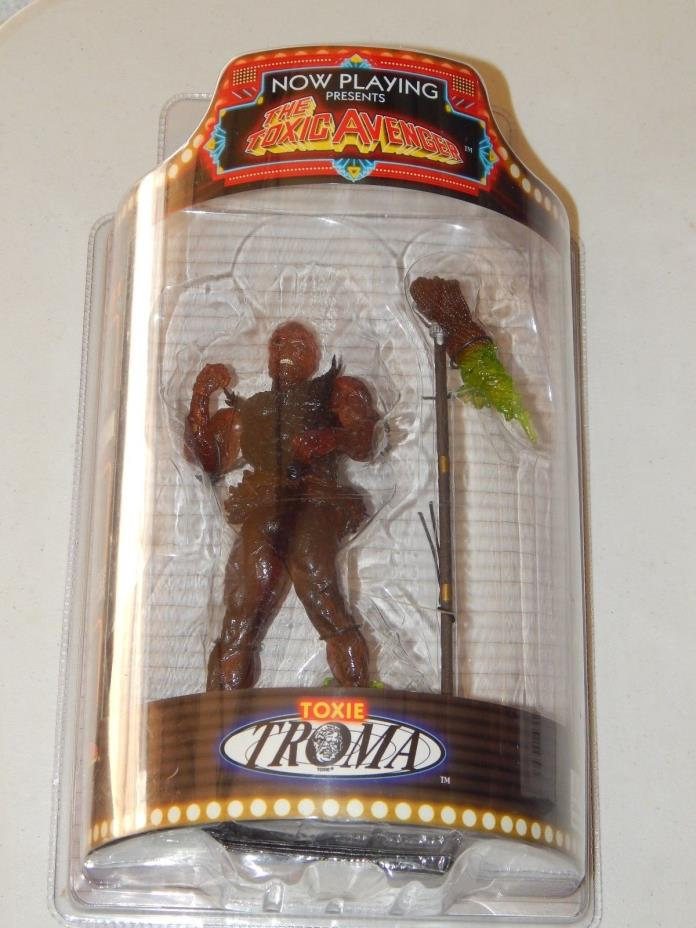 SOTA NOW PLAYING TOXIC AVENGER TOXIE FIGURE TROMA 2004 CLEAR VARIANT