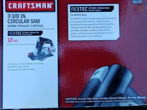 NEW in box Sears Craftsman Nextec 12V 3-3/8