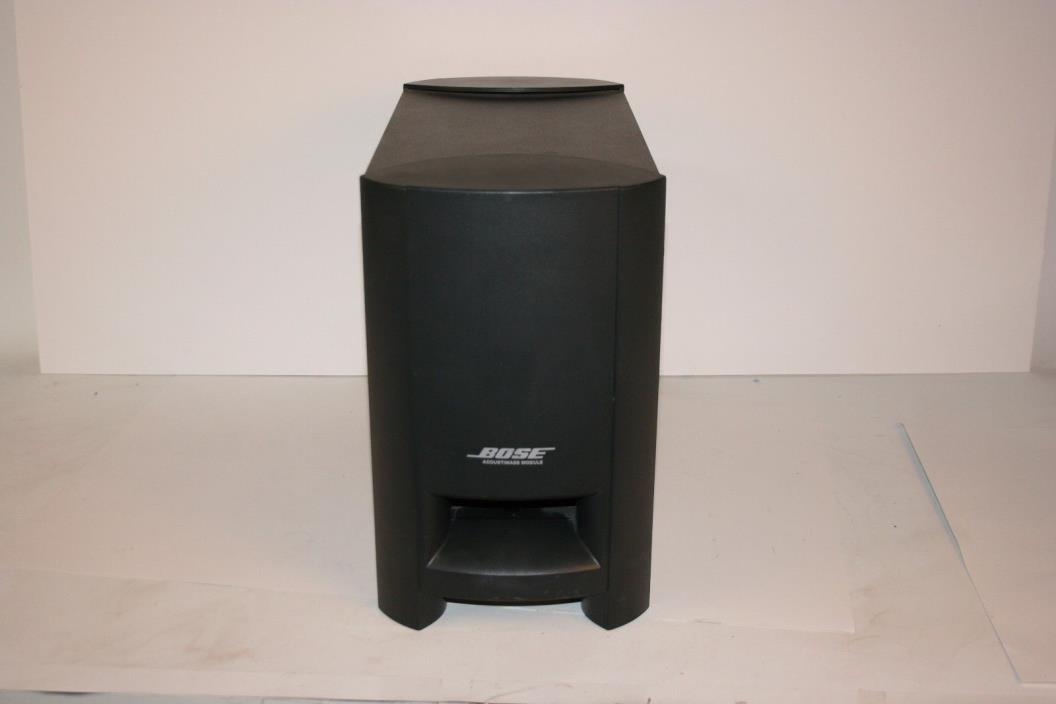 Bose Cinemate Acoustimass Module Subwoofer