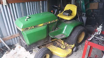 314 John Deere Tractor New Tires Battery 48
