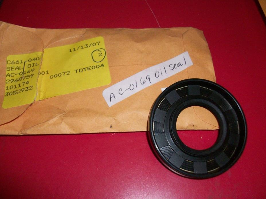 AC-0169 Crankshaft Seal  Craftsman  DeVilbiss  Porter Cable Air Compressor