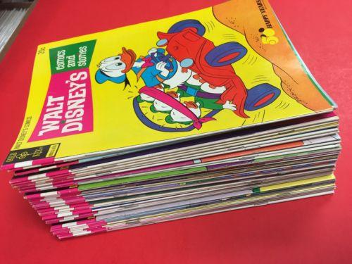 WALT DISNEY'S COMICS STORIES # 393 - 460 ( 43Issues ) GOLD KEY 1970 - NICE GRADE
