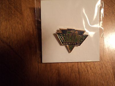 Vintage 1992 Seattle Seahawks Triangle 1 inch Pin NFL football