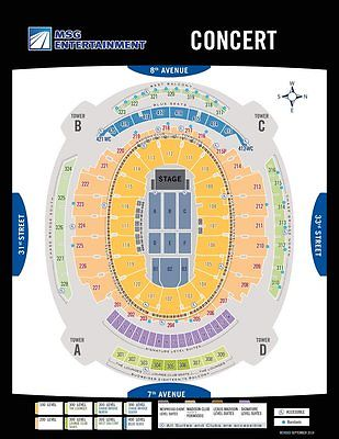 Eric Clapton - March 20, 2017 - Madison Square Garden - Tix EMAILED from TM Acct