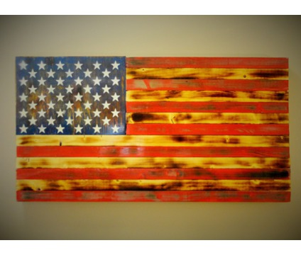 Handmade American flags