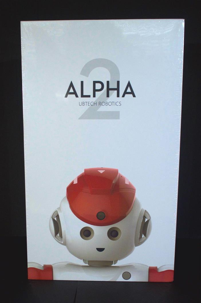 New UBTech Alpha 2 - Red Humanoid Robot  - NEW, Unopened Shrink Wrap