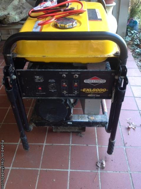 Briggs & Stratton 8,000 Watts Portable Generator