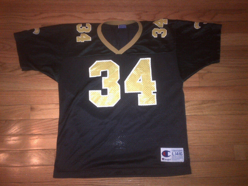 Ricky Williams New Orleans Saints NFL Vintage Champion Jersey Youth L (14-16)