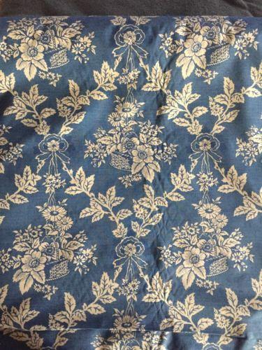 laura ashley Decorator Fabric  9 Yards