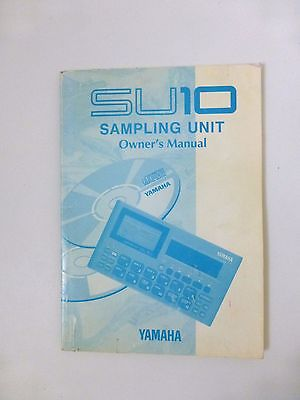 Original manual for Yamaha SU10 sampler