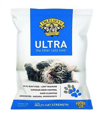 Precious Cat Ultra Premium Clumping Cat Litter, 40 Pound Bag New Free Shipping