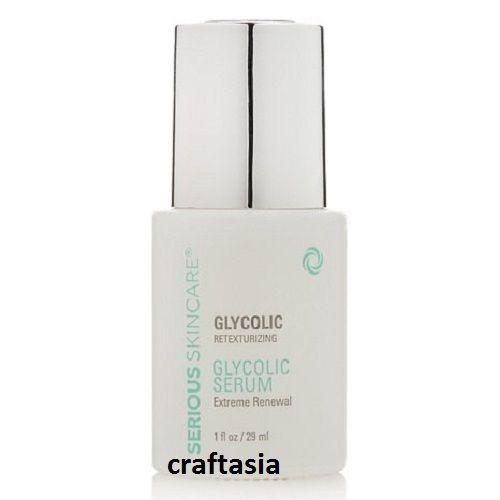 Serious Skin Care Retexturizing Glycolic Serum Extreme Renewal 1 oz.