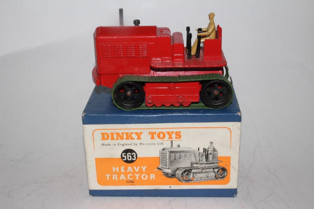 1940's DINKY #563 HEAVY TRACTOR BOX, WITH ORIGINAL BOX