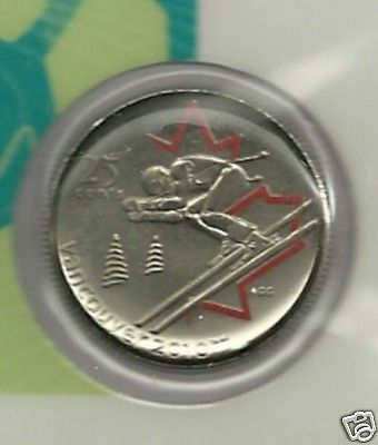 2007  Canada Colored 25 Cent  Mule