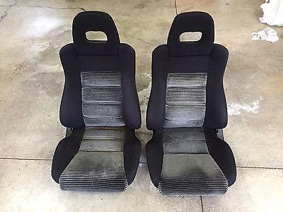 1988 Honda CRX Si Factory OEM Seats