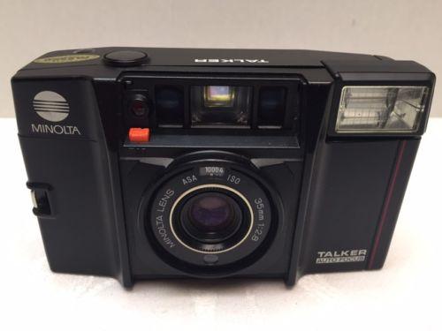 Minolta Camera 35mm Vintage Lot Of (3) Excellent Quality LOOK*****