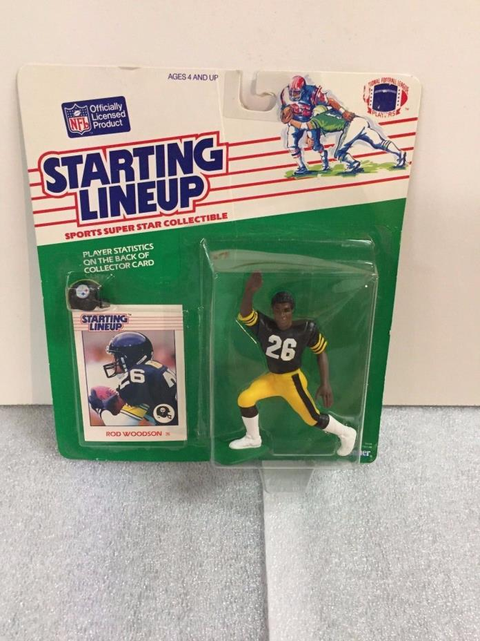 1988 Starting Lineup Football -  Rod Woodson - HTF