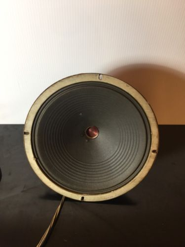 Zenith Concert Speaker 49-156 AB 1550 OHMS Speaker Nice Working Condition