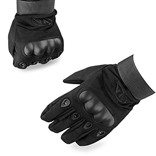 Kumeida Unisex Outdoor Cycling Motorcycle Riding Gloves, Warm Waterproof