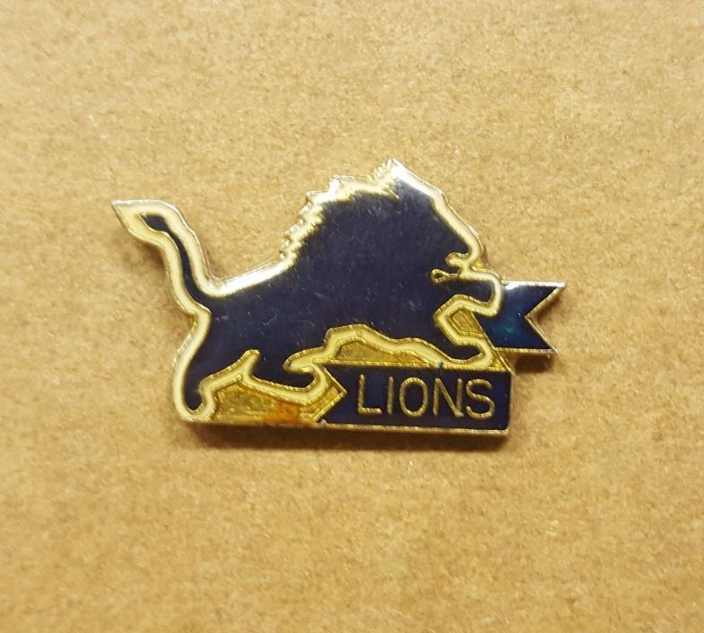 Vintage Detroit Lions NFL Lapel Hat Pin Tie Tack