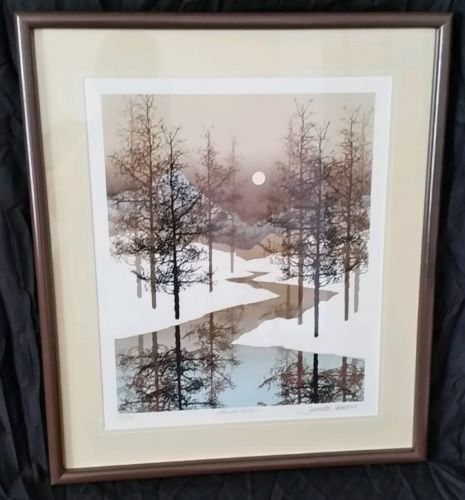 JAMES HAGEN FRAMED SIGNED