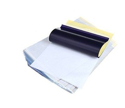 Paper Thermal Stencil Carbon Spirit Sheets Transfer Tattoo Tracing Copier