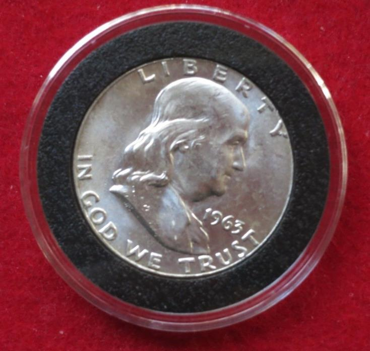 1963 Proof Franklin Silver Half Dollar