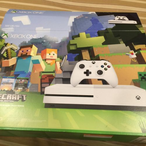 Xbox One S w/ Titanfall 2 and Minecraft Game Codes