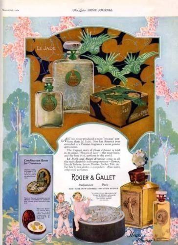 1924 LE JADE FLEURS D'AMOUR ROGER GALLET PERFUME KIDS7101