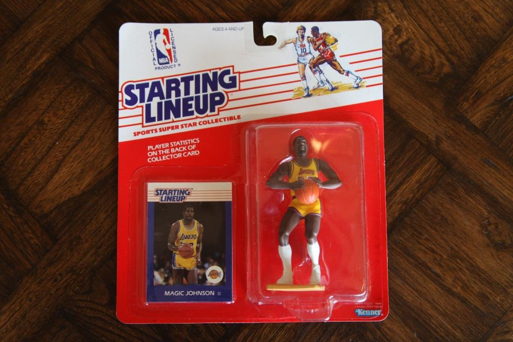 MAGIC JOHNSON 1988 Starting Lineup Figure