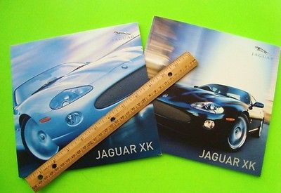 rare 2005 JAGUAR XK-8 & XKR PRESS KIT Dlx Catalog / Slipcase + CD of PHOTOS wow