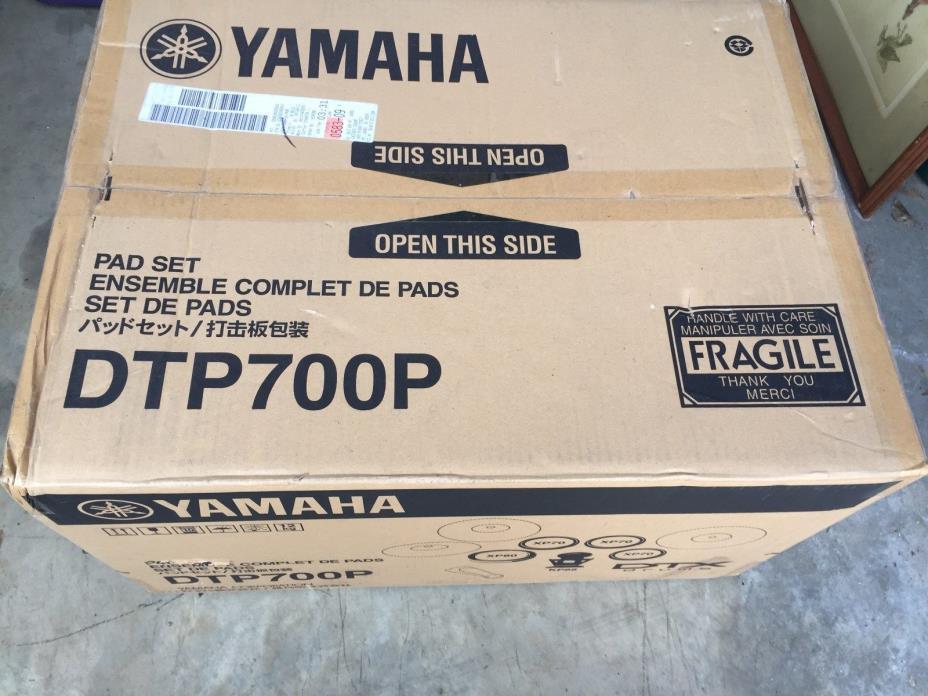 Yamaha DTP700P Electronic Drum Pad Set - Brand New - Factory Sealed