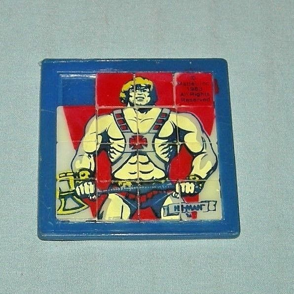 Vintage He-Man Masters of the Universe Slide Puzzle 1983