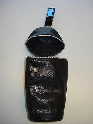 Women's Make up Brush Holder BLACK Zipper top. Nice condition.