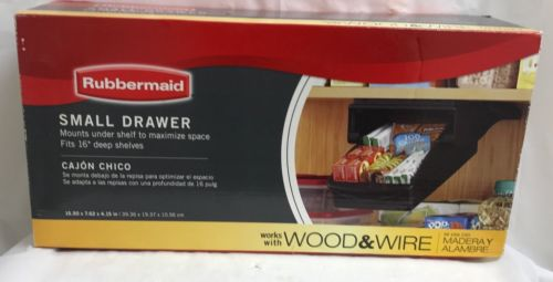 NEW RUBBERMAID SMALL DRAWER FOR KITCHEN CABINET OR PANTRY