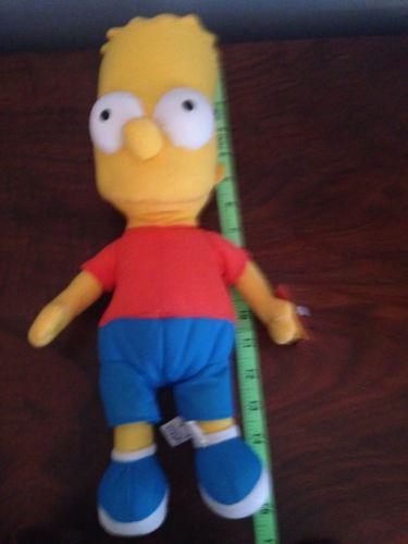 2005 Bart Simpson Doll Tags Still On