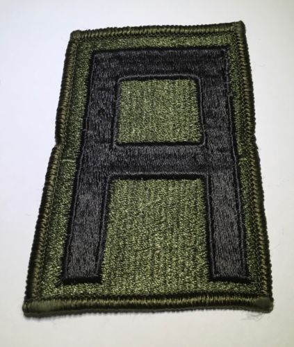Original First 1st Army Subdued Patch Murrow Edges & Glue Back