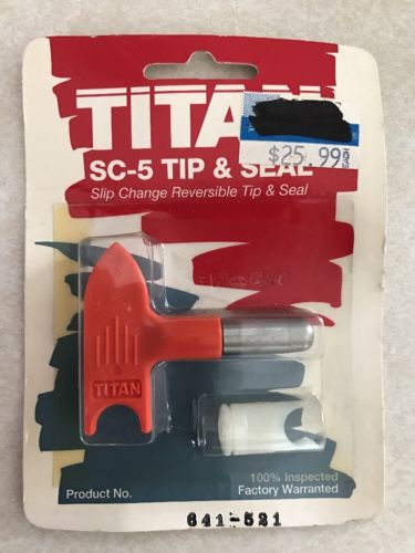 Titan 641-521 Sc-5 Tip And Seal, Airless Paint Sprayer