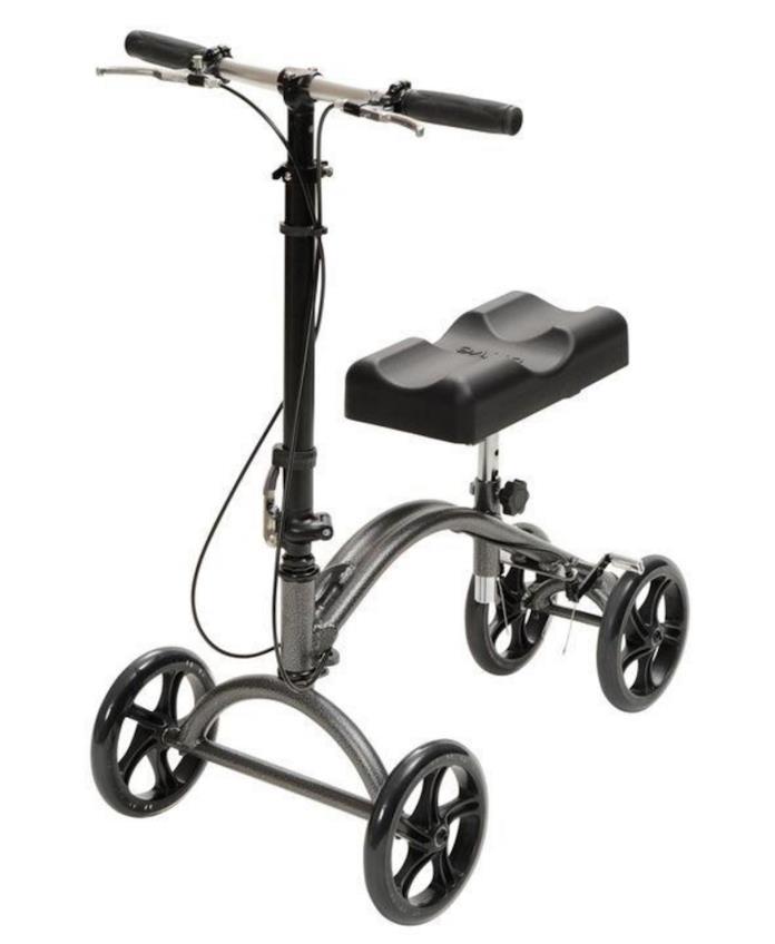 Steerable Knee Walker Mobility Rollator Foot Breaks Sprains Amputation Surgery