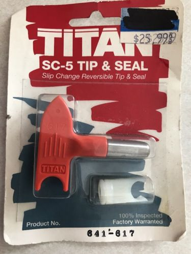 Titan 641-617 Sc-5 Tip And Seal, Airless Paint Sprayer