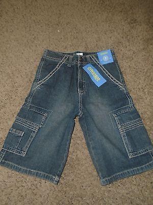 NWT Gymboree Denim Cargo Shorts 7