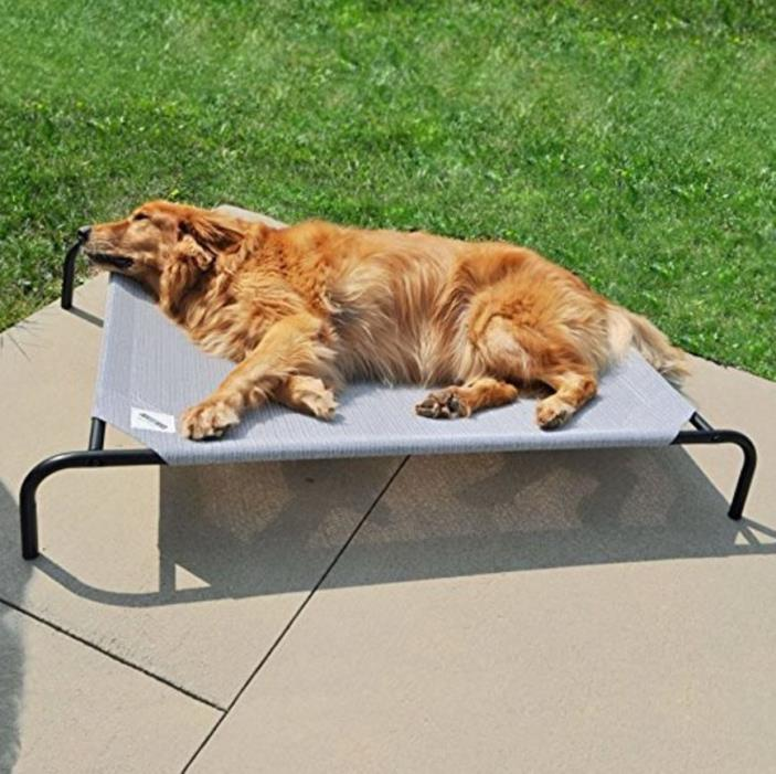 Elevated Dog Beds for Large Dogs Platform Outdoor Raised Pet Cot Indoor Portable