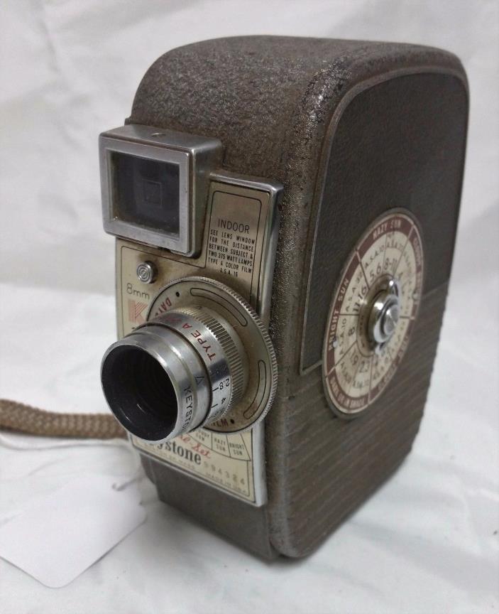 Vintage Keystone Capri K-25 8mm Movie Camera
