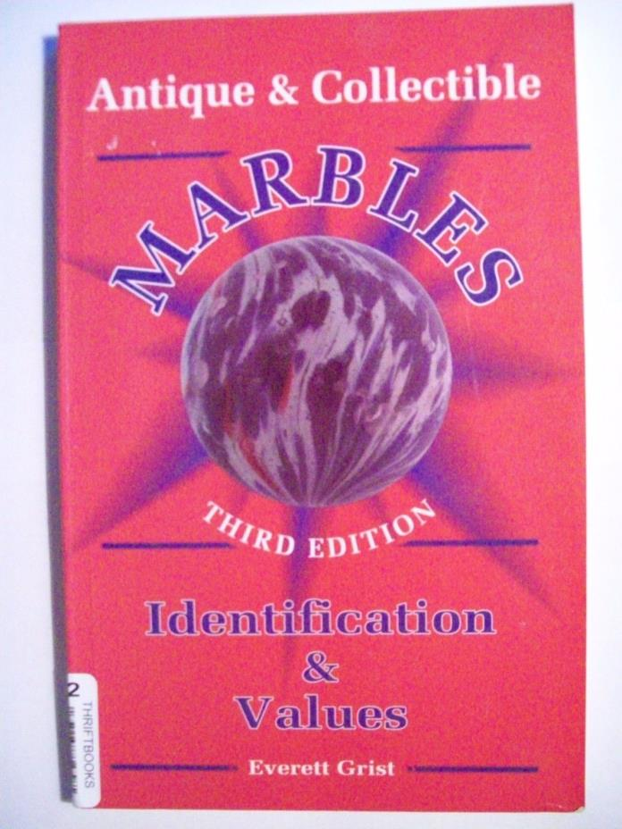 Rare Toy Marble Price Value Collectible Book Handmade Machine clay stoneware +++