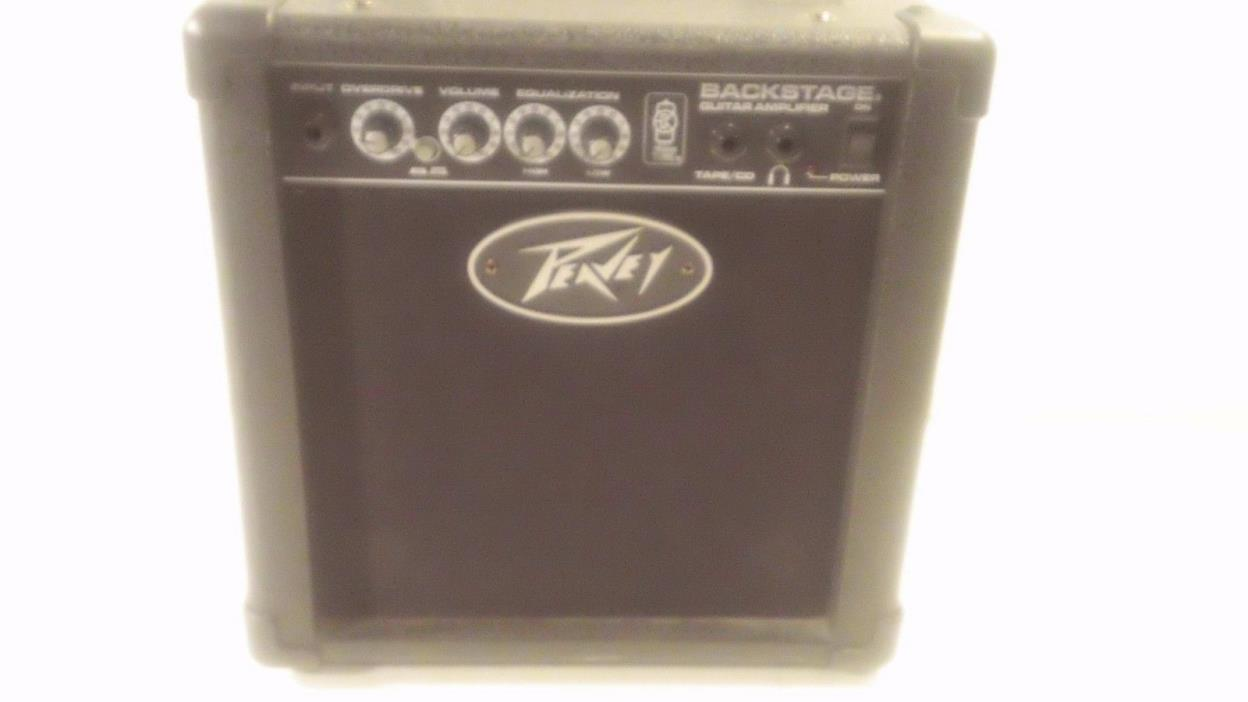 Peavey Backstage Guitar Combo Amp Music Amplifier