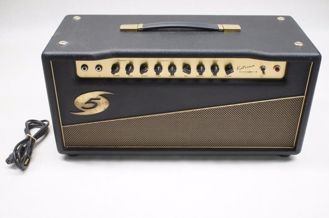 Category 5 Katrina 50W Tube Amplifier Amp Head Guitar Amp